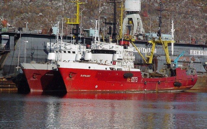 Первые корабелы Мурманской области. На судоремонтном заводе «Нерпа